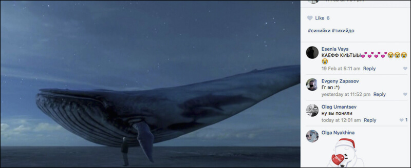 130 Kişiyi İntihara Sürükleyen Oyun Blue Whale