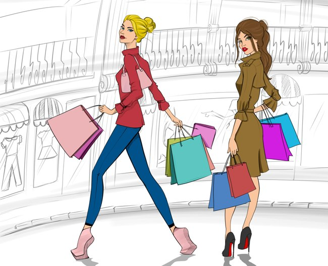 Alışveriş Yapmak Bir Coşkudur Alışveriş ile Yağlarınızı Eritin