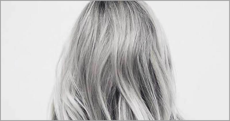 Beyaz Saçları Kapatmanın Doğal Yolu