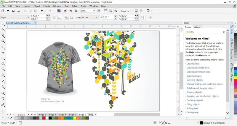 En Çok Kullanılan Tasarım Programları Corel Draw