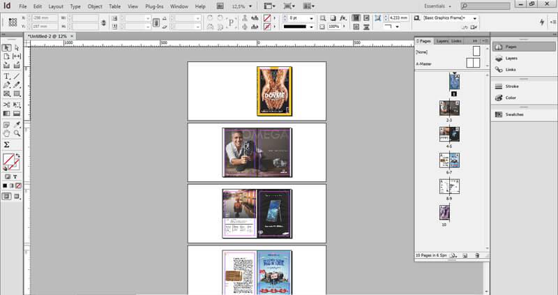 En Çok Kullanılan Tasarım Programları Indesign