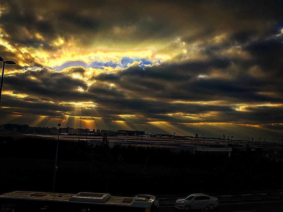 Gök Yüzü ve Güneş Manzarası