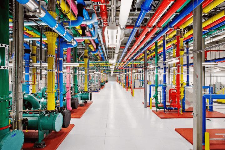 Google'ın veri merkezleri