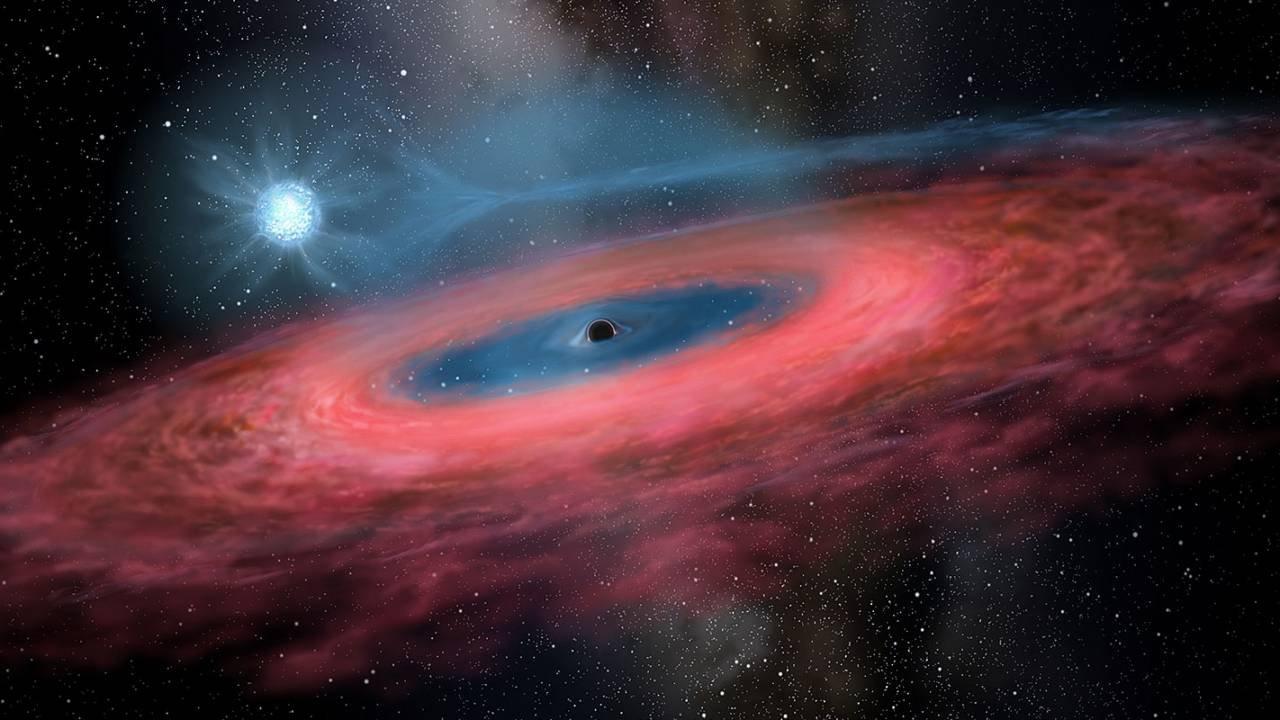 Güneşten 70 Katı Büyüklükte Dev Kara Delik Tespit Edildi