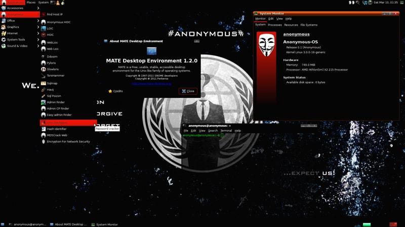 Hackerların Tercih Ettiği 10 Popüler İşletim Sistemi Live Hacking OS