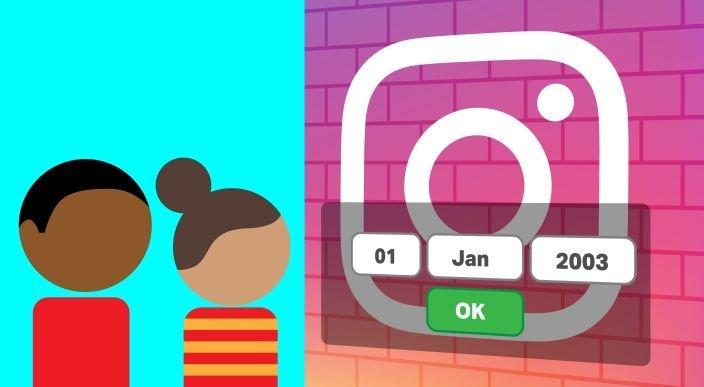 Instagram, Kayıt Olurken Doğum Tarihi İsteyecek