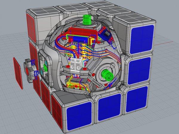 Kendi Kendini Çözebilen Rubik Küp Geliştirildi