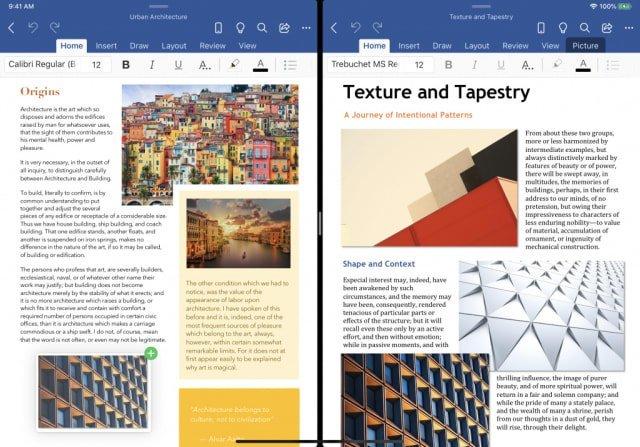 Microsoft Office, iPad İçin Çoklu Pencere Desteğini Test Ediyor