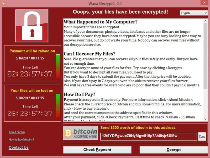 Microsoft WannaCry Virüsü İçin Amerikan Devletini Suçladı Fidye Virüsü