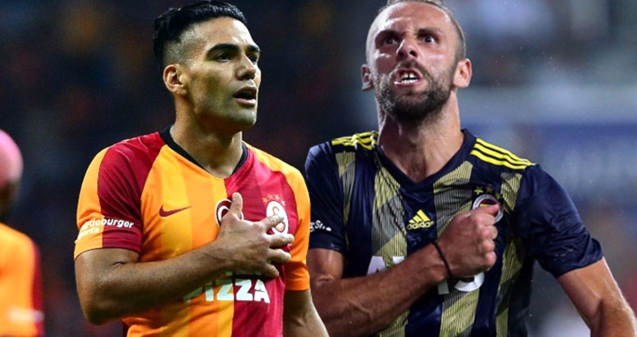 Galatasaray Fenerbahçe Derbisi İlk  11