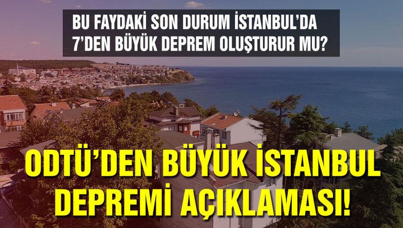 ODTÜ'den İstanbul Depremi Hakkında Açıkla