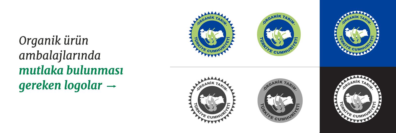 Organik Ürünlerde Bulunması Gereken Logolar
