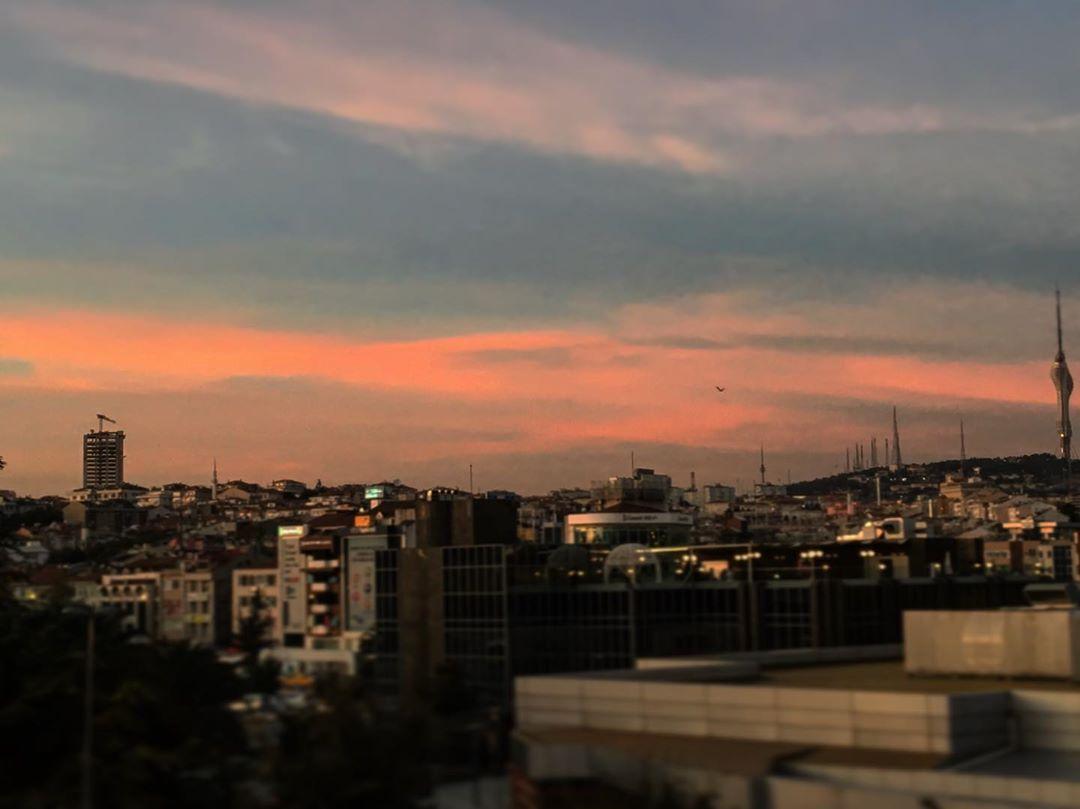 Pembe Gökyüzü Manzarası