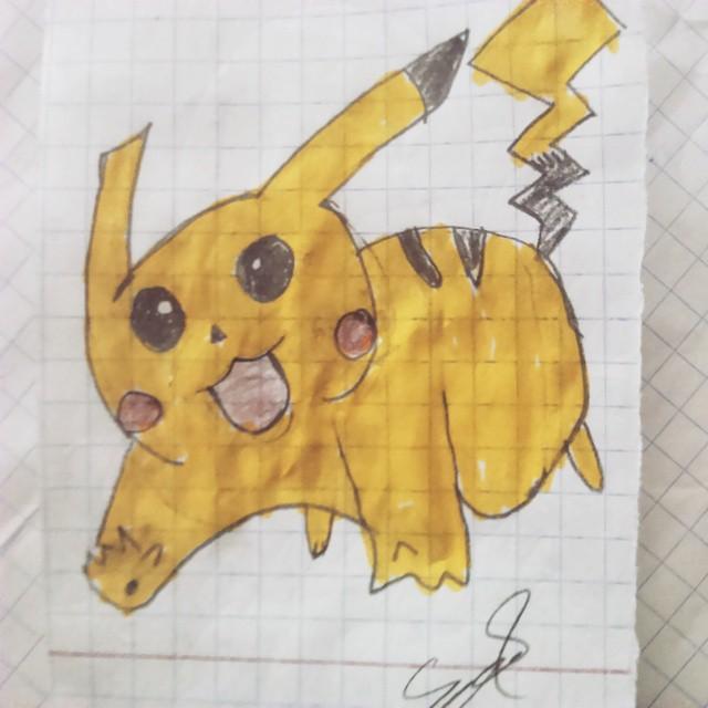 Pikachu Çizimi