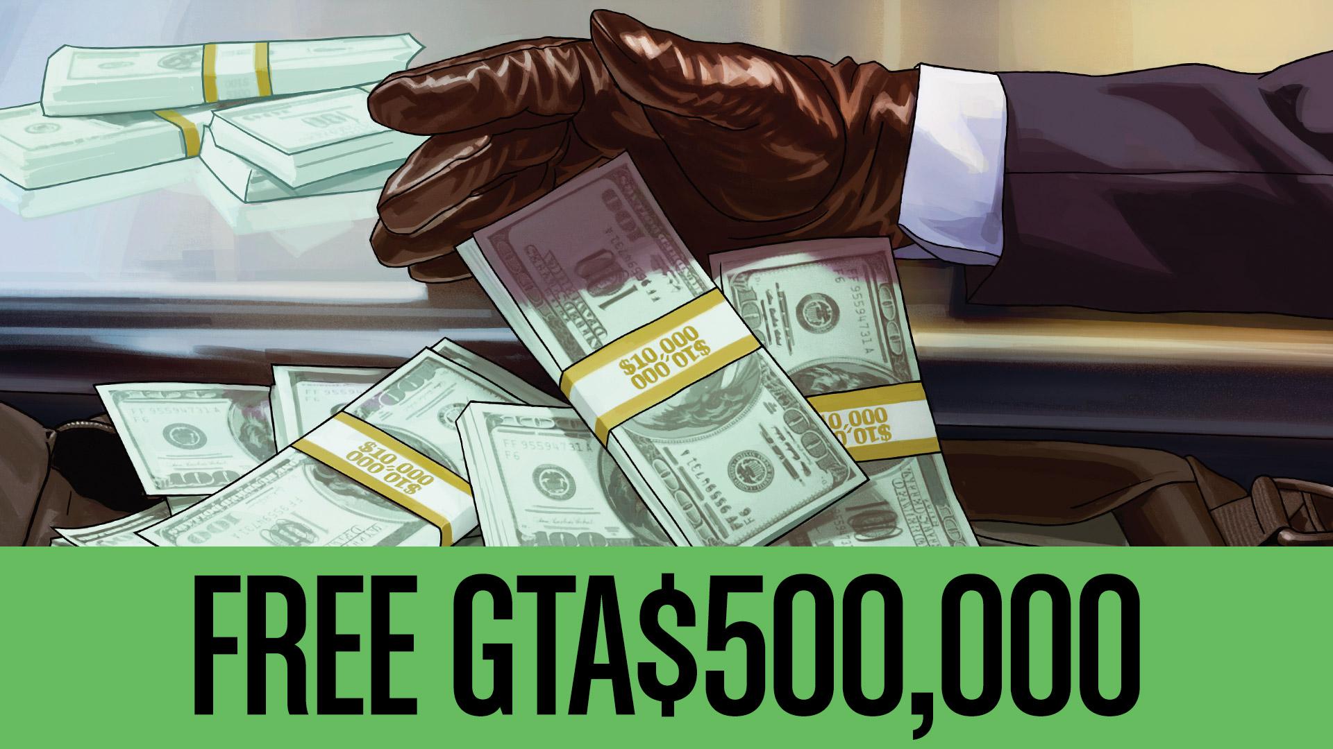 Rockstar Games, GTA Online Oyuncularına 500.000 Dolar Dağıtıyor