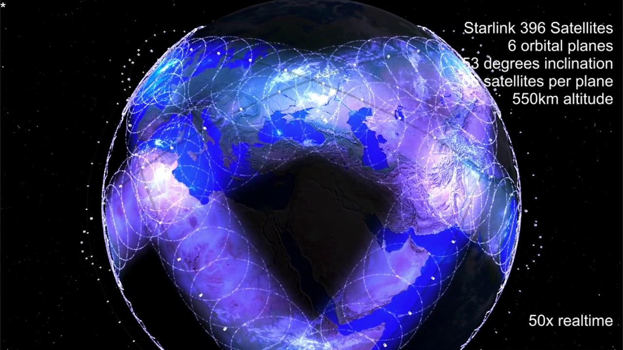 SpaceX Starlink İnternet Hizmeti Önümüzdeki Yıl Başlayabilir