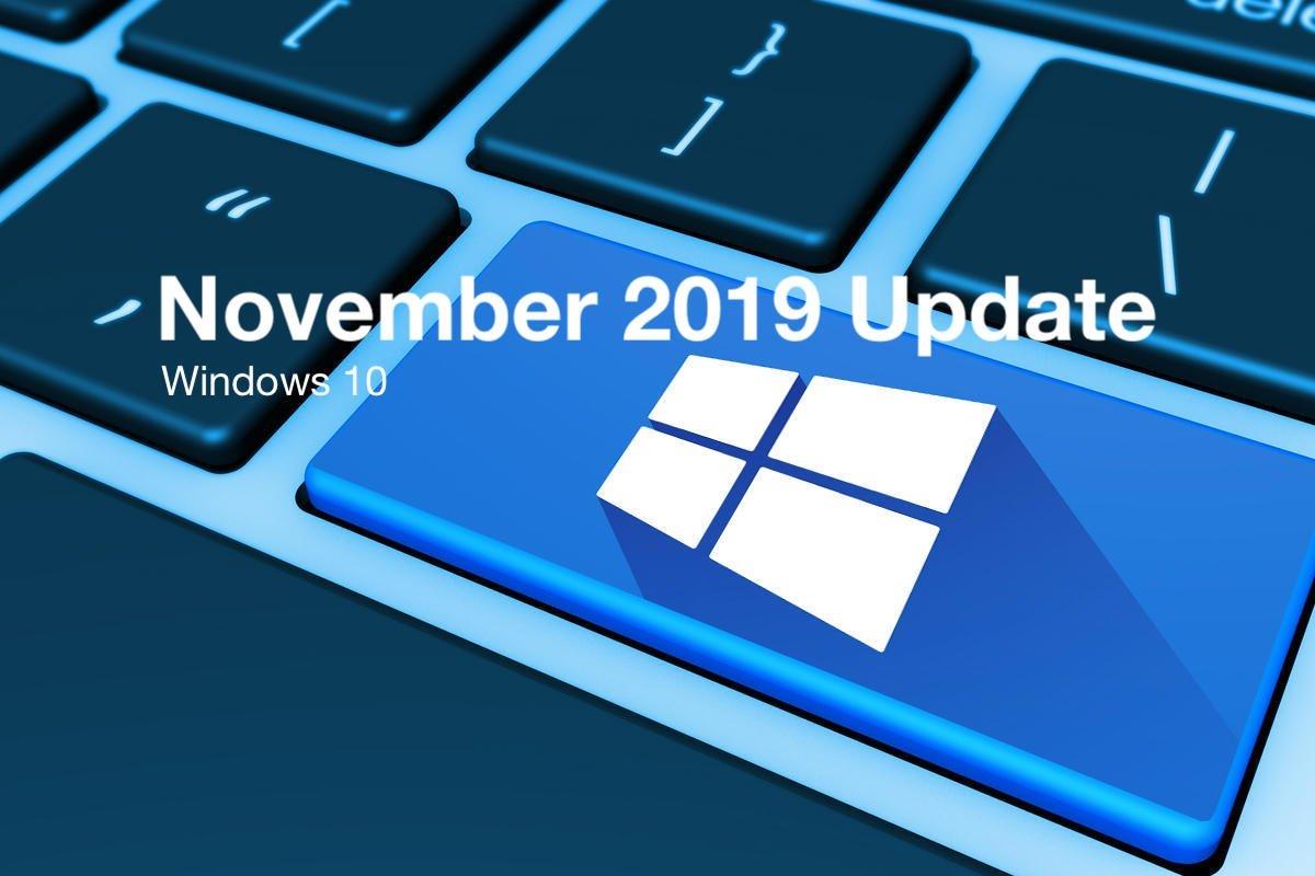 Windows 10 Kasım 2019 Güncellemesi