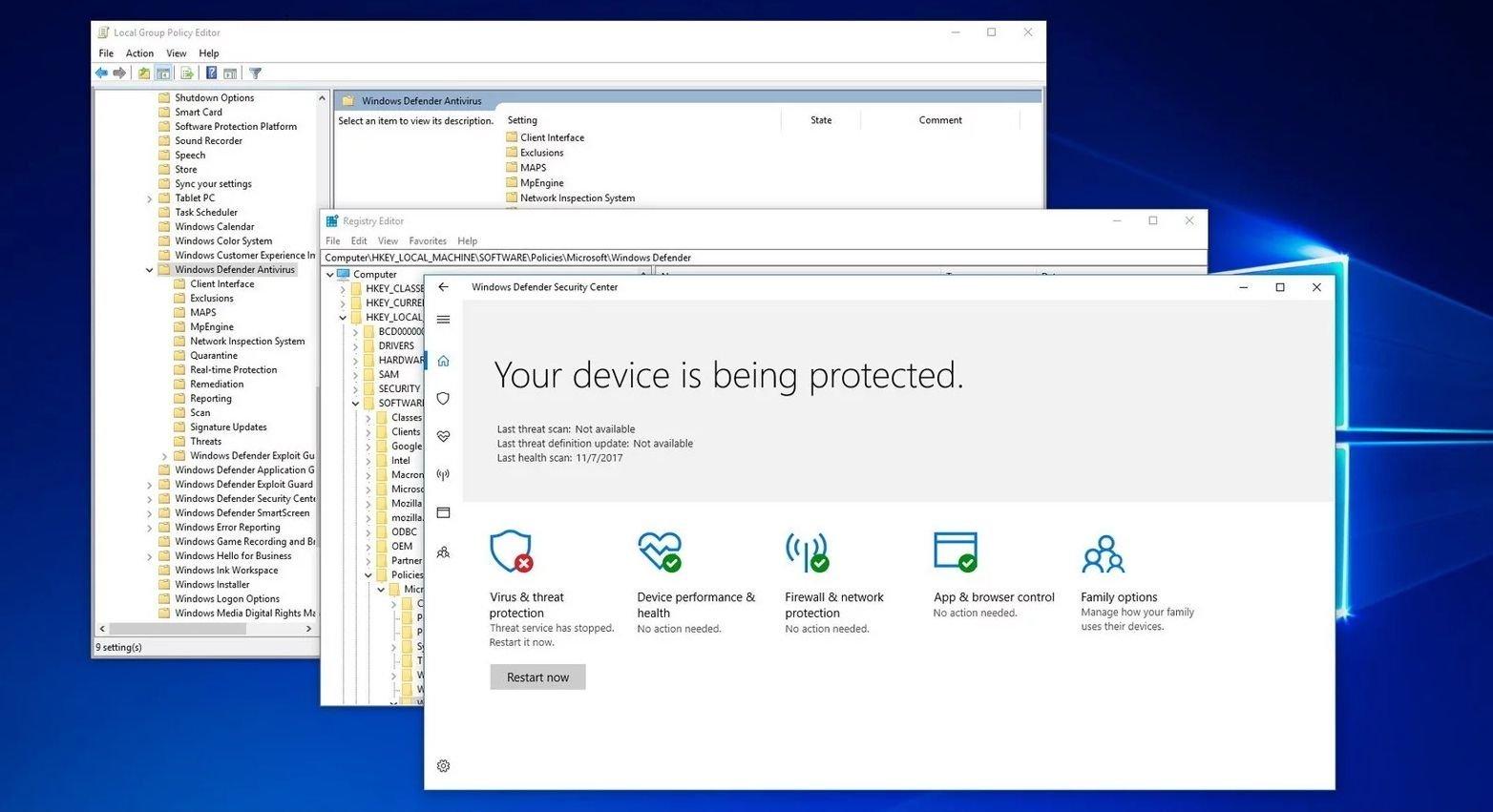 Windows Defender & Security Essentials Aralarındaki Fark Nedir?